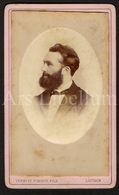 Photo-carte De Visite / CDV / Homme / Man / Photographer Verbeke Schodts, Fils / Louvain / Leuven / 2 Scans - Ancianas (antes De 1900)