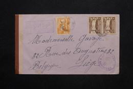 PEROU - Enveloppe En Recommandé De Lima Pour La Belgique En 1948, Contrôle Douanier - L 25140 - Peru
