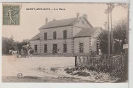 51 - GIGNY AUX BOIS - La Gare Animée - Altri Comuni