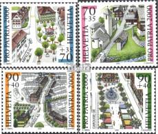 Schweiz 1716-1719 (kompl.Ausg.) Postfrisch 2000 Pro Patria: Ortsbilder - Schweiz