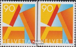 Suisse 1563y Dl,1563y Dr Neuf Avec Gomme Originale 1995 Un-Post - Suisse