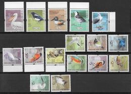 HONG-KONG - OISEAUX / BIRDS - SERIE COMPLETE YVERT N° 1301/1316 ** MNH - - 1997-... Région Administrative Chinoise
