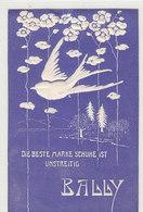 Bally-Reklame - Reliefblatt In Postkartenformat - Adressiert      (90310) - Publicité