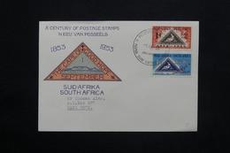 AFRIQUE DU SUD - Enveloppe FDC Du Centenaire Du Timbre En 1953 Pour Cape Town - L 25144 - South Africa (...-1961)