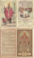 """6 Santini Ricordo """"SS. Comunione Pasquale"""" Anni 1940, 1944, 1946, 1947, 1948, 1949, Parrocchia Ferrera Erbognone - Images Religieuses"""