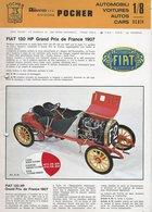 KAT108 Modellprospekt Rivarossi S.p.a. Divisione Pocher, Automobili, 4-sprachig - Littérature & DVD