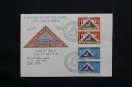 AFRIQUE DU SUD - Enveloppe FDC Du Centenaire Du Timbre Pour Cape Town En 1953 - L 25146 - South Africa (...-1961)