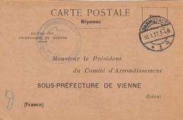 CARTE PRISONNIER DE GUERRE. KRIEGSGEFANGENEN. 1916.  KRIEGSGEFANGENENLAGERS DARMSTADT  /  2 - Storia Postale