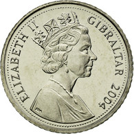 Monnaie, Gibraltar, Elizabeth II, Tercentenary 1704-2004, 5 Pence, 2004, Pobjoy - Bahamas