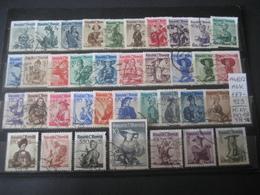 Österreich/Austria- Freimarken Trachten 1948-52, Mi. Nr. 893-926 Und 978-980, ANK 887-923  Gestempelt - 1945-60 Used