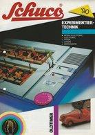 KAT158 Modellprospekt SCHUCO Experimentiertechnik 1990, Deutsch - Literature & DVD