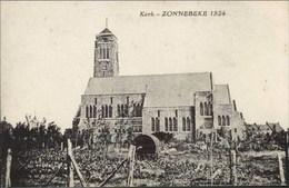 ZONNEBEKE 1924 - Kerk - Zonnebeke