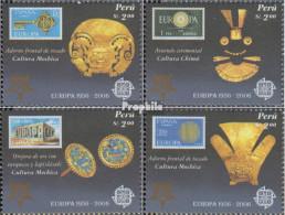 Peru 2030-2033 (kompl.Ausg.) Postfrisch 2005 50 Jahre Europamarken - Peru