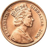 Monnaie, Gibraltar, Elizabeth II, 300th Anniversary, Penny, 2004, SPL, Copper - Gibraltar