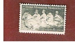 STATI UNITI (U.S.A.) - SG 1404 - 1970   STONE MOUNTAIN CONFEDERATE MEMORIAL     - USED - Stati Uniti