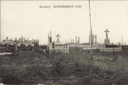 ZONNEBEKE 1924 - Kerkhof - Zonnebeke