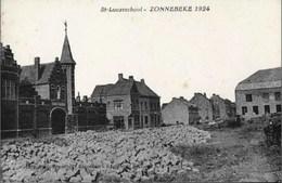 ZONNEBEKE 1924 - St-Lucasschool - Zonnebeke