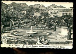 06 - Menton : Les Grands Jardins Décorés Pour Les Fêtes Du Citron (CPSM) - Carnaval