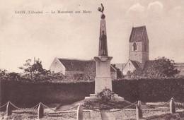 14 / SASSY / LE MONUMENT AUX MORTS - Autres Communes