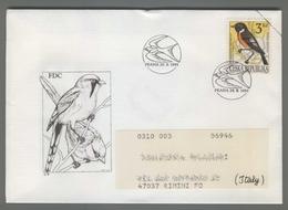 C4206 Ceska Republika FDC 1994 ANIMAL BIRD 3 KC VG - FDC