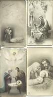 "4 Santini ""Sacra Famiglia"" Madonna, San Giuseppe E Bambino Gesù - Images Religieuses"