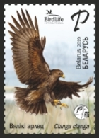 _TH Belarus 2019 Bird Of Year Great Spotted Eagle Birds Fauna 1v MNH - Arends & Roofvogels