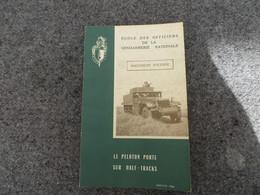 Le Peloton Porté Sur Half-Tracks - Document D'étude - 0/05 - Livres, BD, Revues