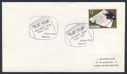 "Spain Espana 1985 Cover Brief Envelope - 50e Aniv Diario ""YA"" 1935-1985, Madrid / Newspaper / Zeitung - 1931-Tegenwoordig: 2de Rep. - ...Juan Carlos I"