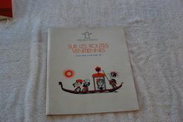 POCHETTE DU PAQUEBOT FRANCE SUR LES ROUTES VENITIENNES EN 1971 - Bateaux