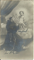 """Santino """"Sant'Antonio Di Padova E Gesù Bambino"""" Venerato Nel Santuario Di Anzino (Ossola), Novara 1905 - Santini"""
