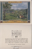 Waldhausen Notgeld Der Gemeinde Waldhausen Bankfrisch 1921 80 Heller - Oesterreich