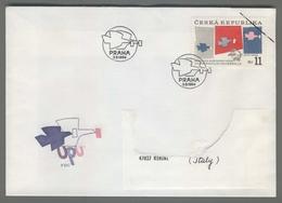 C4209 Ceska Republika FDC 1994 UPU SVETOVA POSTOVNI UNIE UNION POSTALE UNIVERSELLE 11 KC VG - FDC