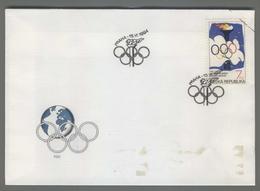C4210 Ceska Republika FDC 1994 SPORT OLYMPICS GAMES 7 KC VG - FDC