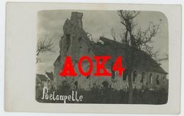 POELKAPELLE Langemark Kerk Ruine 1914 1915 1916 1917 Flandern Kerkhof - Langemark-Poelkapelle