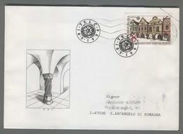 C4214 Ceska Republika FDC 1994 UNESCO TELC BAROKNI STITY DOMU NA NAMESTI 8 KC VG - FDC