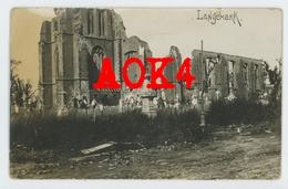 LANGEMARK Poelkapelle Kerk Ruine 1914 1915 1916 1917 Flandern Kerkhof - Langemark-Poelkapelle