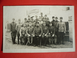 K.u.K. SOLDATEN - AUSTRIAN SOLDIERS , ORIGINAL PHOTO 1918 K.K. LANDSTURMINFANTERIEREGIMENT NR II. - Guerre 1914-18