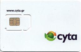 Greece - CYTA - White GSM SIM With Cyta Logo (Type 1), 2018 Issue, Mint - Greece