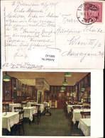 600142,Künstler Ak E. F. Hofecker Kaffee Restaurant Einrichtung Interieur Pub M. Jaff - Ansichtskarten