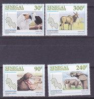 SENEGAL,   N°1230/1233 , Cote 5€ ,animaux ( W1903/094) - Senegal (1960-...)