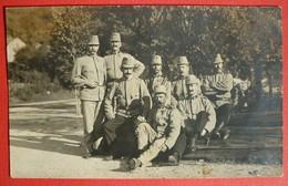 K.u.K. SOLDATEN  - AUSTRIAN SOLDIERS, ORIGINAL PHOTO , GORIZIA ITALY 1914 - Guerra 1914-18
