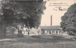 BERNOUVILLE - Usine De Bernouville Et Un Coin Du Jardin - Autres Communes