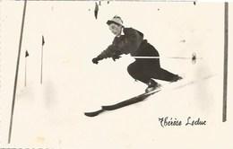 88- Les Championnes Vosgiennes - Thérèse Leduc En Pleine Action - France
