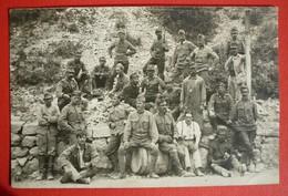 K.u.K. SOLDATEN  - AUSTRIAN SOLDIERS, ORIGINAL PHOTO 1916, FELDPOSTAMT 188 - Guerra 1914-18