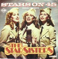 "THE STARSISTERS ""MEDLEY - STARS SERENADE"" DISQUE VINYL 45 TOURS - Vinyles"