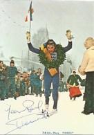 88- Les Champions Vosgiens - Jean Paul Pierrat à L'arrivée De La Vasaloppet 87km - Dédicace - France
