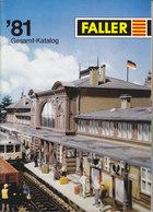 KAT211 Modellkatalog FALLER Gesamt-Katalog 1981, Neuw., Deutsch, 125 Seiten - Littérature & DVD