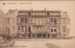 Koksijde Coxyde Bains Groupe De Villas Villa ZELDZAAM (In Zeer Goede Staat) - Koksijde