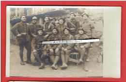 PHOTOGRAPHIE GUERRE 1914 1918 WWI SOLDATS DU 106e BATAILLON DE CHASSEURS A PIED - Guerre, Militaire