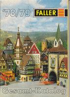 KAT212 Modellkatalog FALLER Gesamt-Katalog, 1978/79, Deutsch, 85 Seiten - Literature & DVD